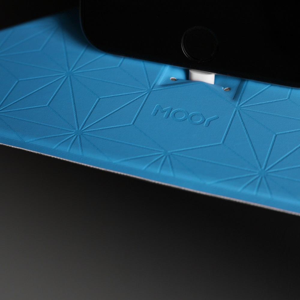 MOOY|Plank 2.0 小力士磁吸辦公置物架-藍色