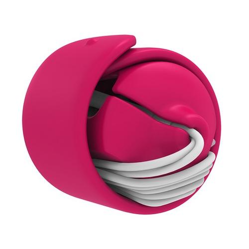 MOOY|Snappy 2.0 耳機捲線器(霓虹桃pink)