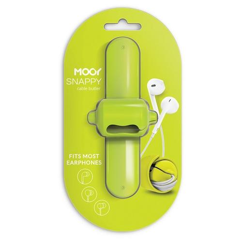 MOOY|Snappy 2.0 耳機捲線器(萊姆綠Green)