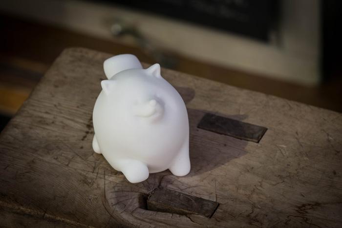 CHU,AN Design| 友善博美狗-狗狗造型石雕擺飾/紙鎮