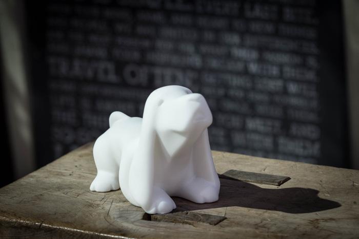 (複製)CHU,AN Design| 開心小獵犬-狗狗造型石雕擺飾/紙鎮