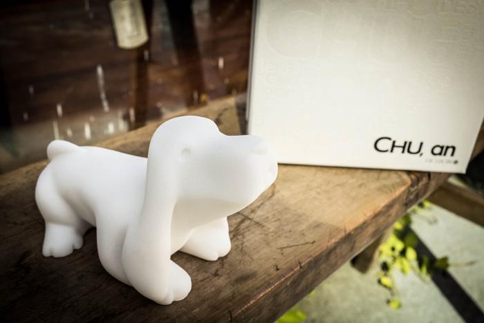 (複製)CHU,AN Design  開心小獵犬-狗狗造型石雕擺飾/紙鎮