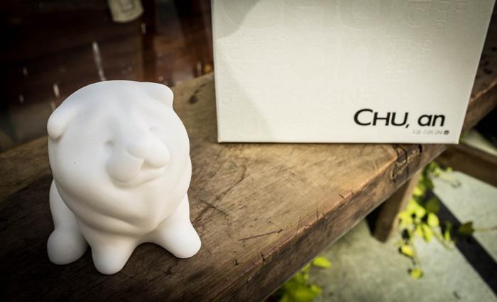 (複製)CHU,AN Design| 聰穎牛頭梗-狗狗造型石雕擺飾/紙鎮