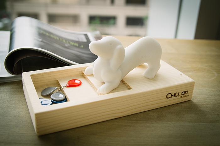 (複製)CHU,AN Design| 和善拉不拉多-狗狗造型石雕擺飾/紙鎮