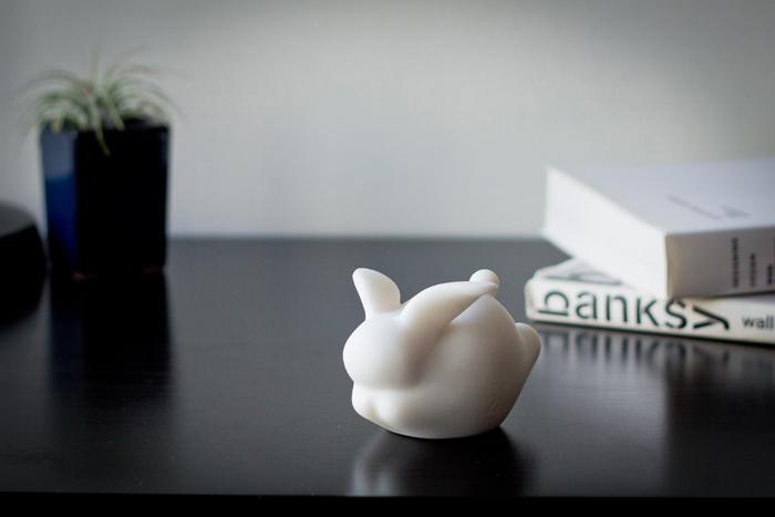 (複製)CHU,AN Design| 想飛系列-《飛升祝福》 犀牛造型石雕擺飾/紙鎮