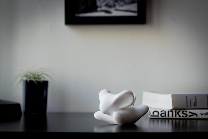 (複製)CHU,AN Design| 想飛系列-《飛擁天空》小飛熊造型石雕擺飾/紙鎮