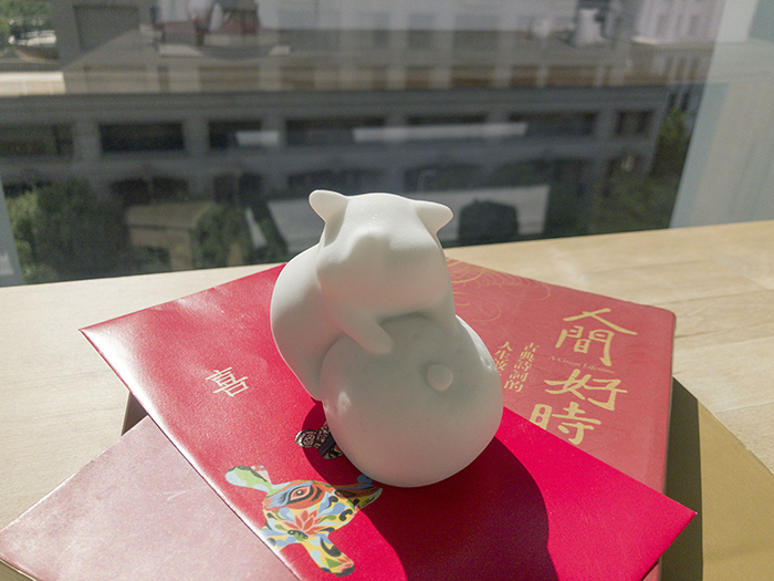 CHU,AN Design| 諸事吉祥-吉利豬造型石雕/紙鎮