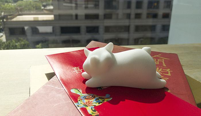 (複製)CHU,AN Design  諸事吉祥-吉利豬造型石雕/紙鎮