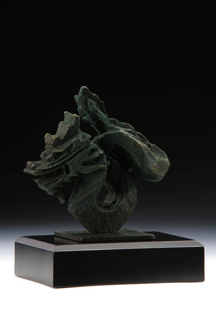 (複製)筌美術Gallery Chuan | 八方系列_《兔.祥瑞 》兔造型銅雕