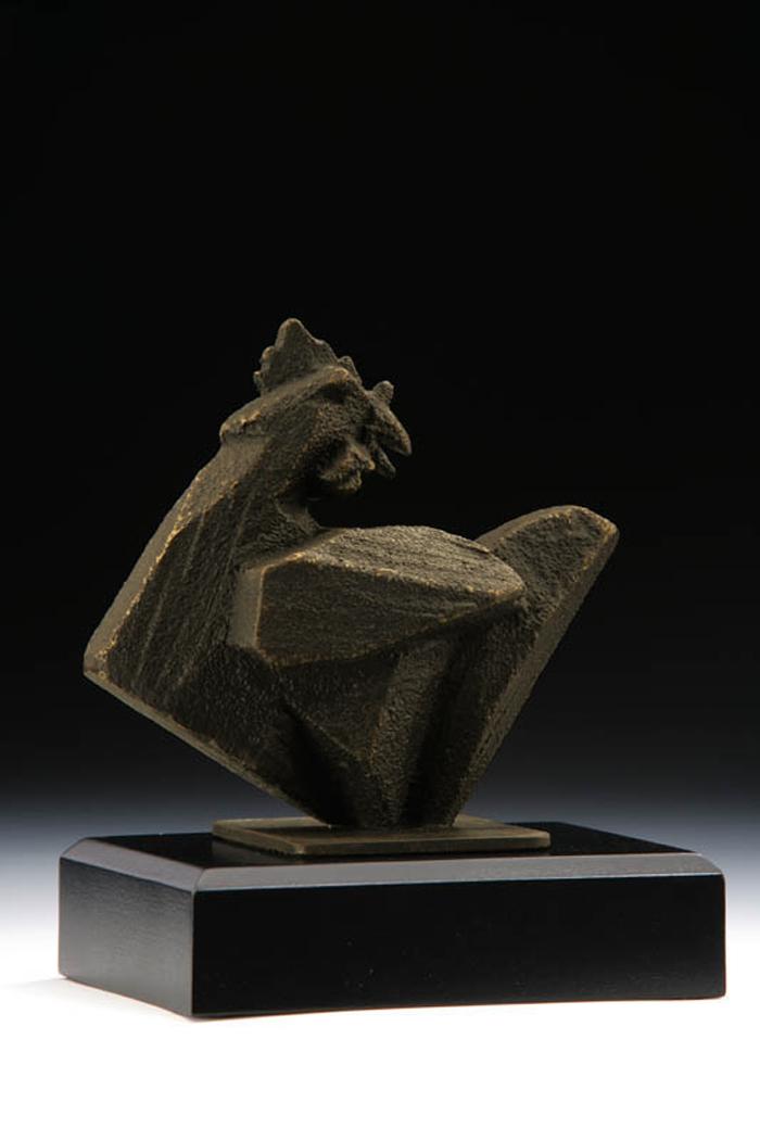 (複製)筌美術Gallery Chuan | 八方系列_《猴.高升 》猴造型銅雕