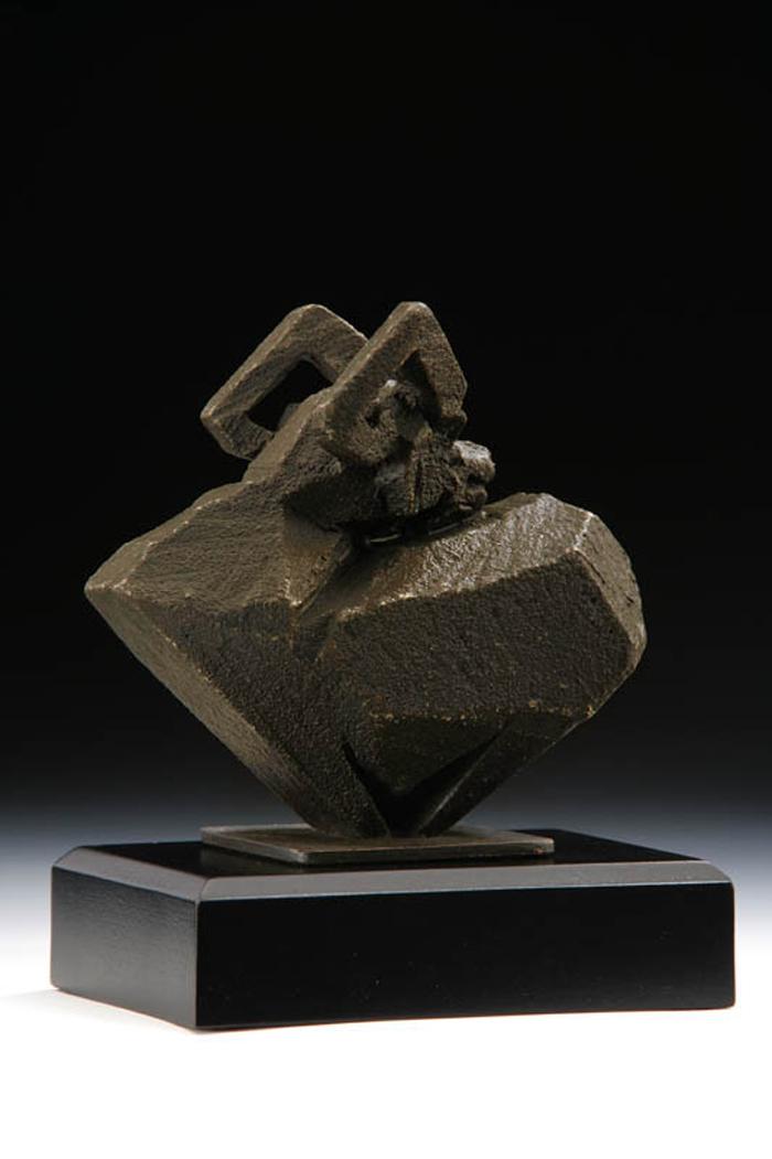 筌美術Gallery Chuan   八方系列_《羊.豐樂 》羊造型銅雕