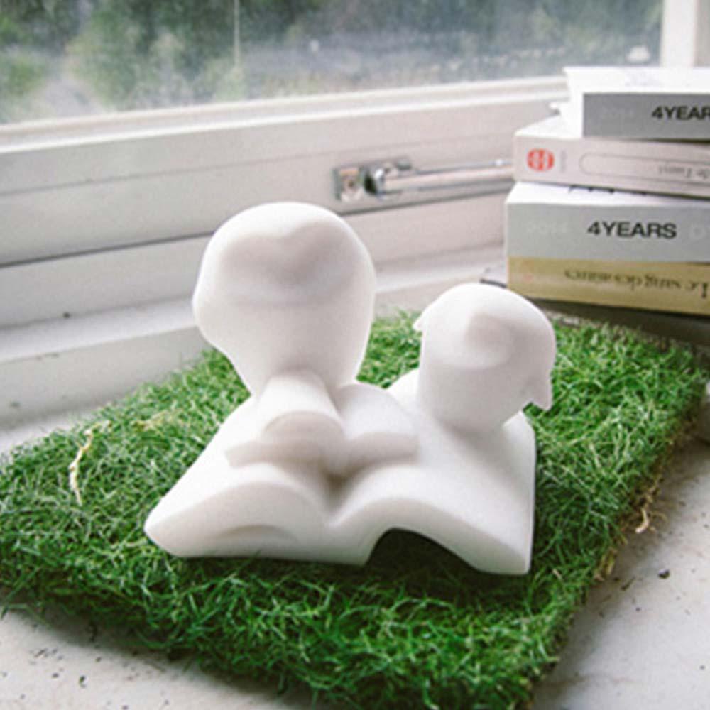 CHU,AN Design|家庭-貓頭鷹造型立體石雕紙鎮