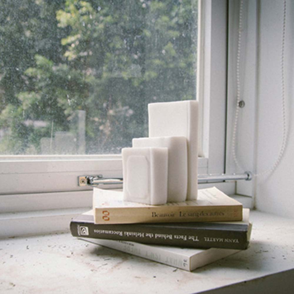 CHU,AN Design|閱讀-書本造型立體石雕書擋