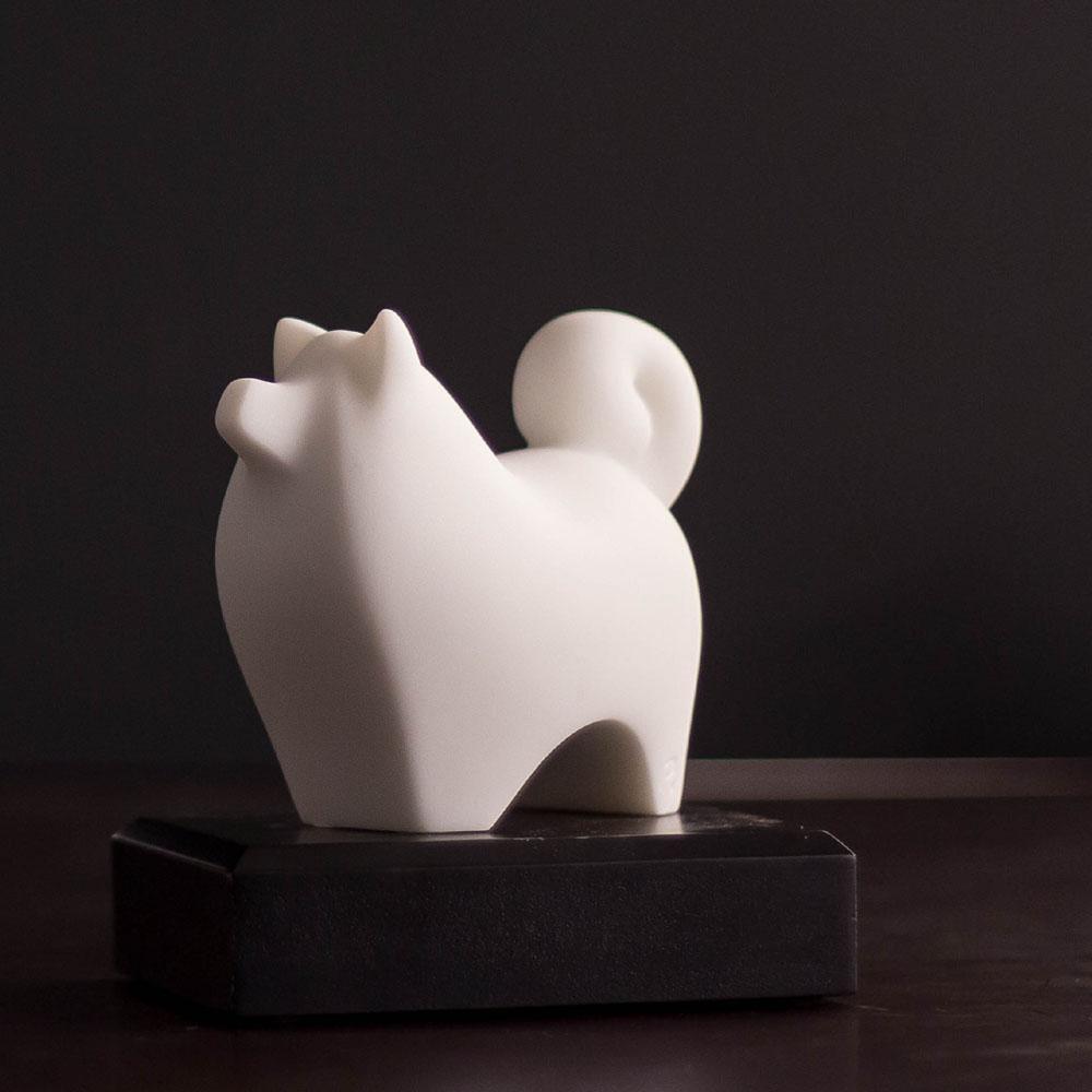 CHU,AN Design| 福氣狗-十二生肖造型石雕紙鎮