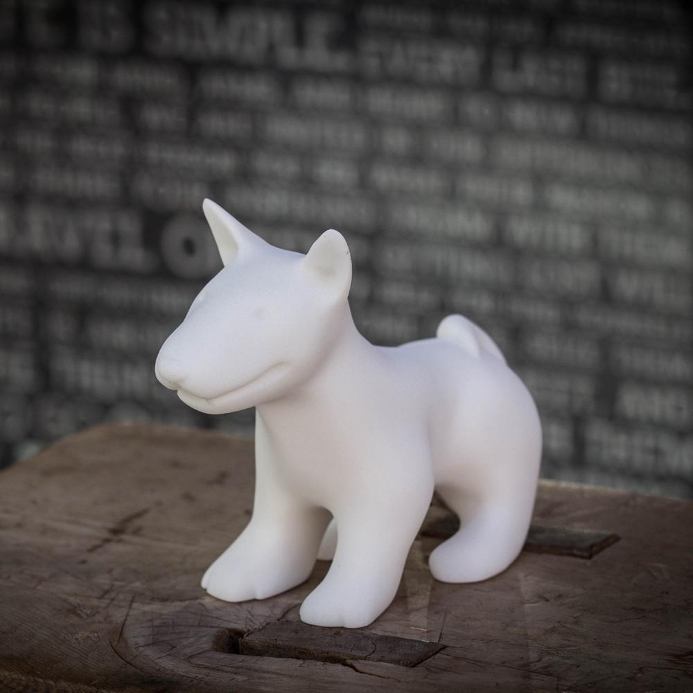 CHU,AN Design| 聰穎牛頭梗-狗狗造型石雕擺飾/紙鎮