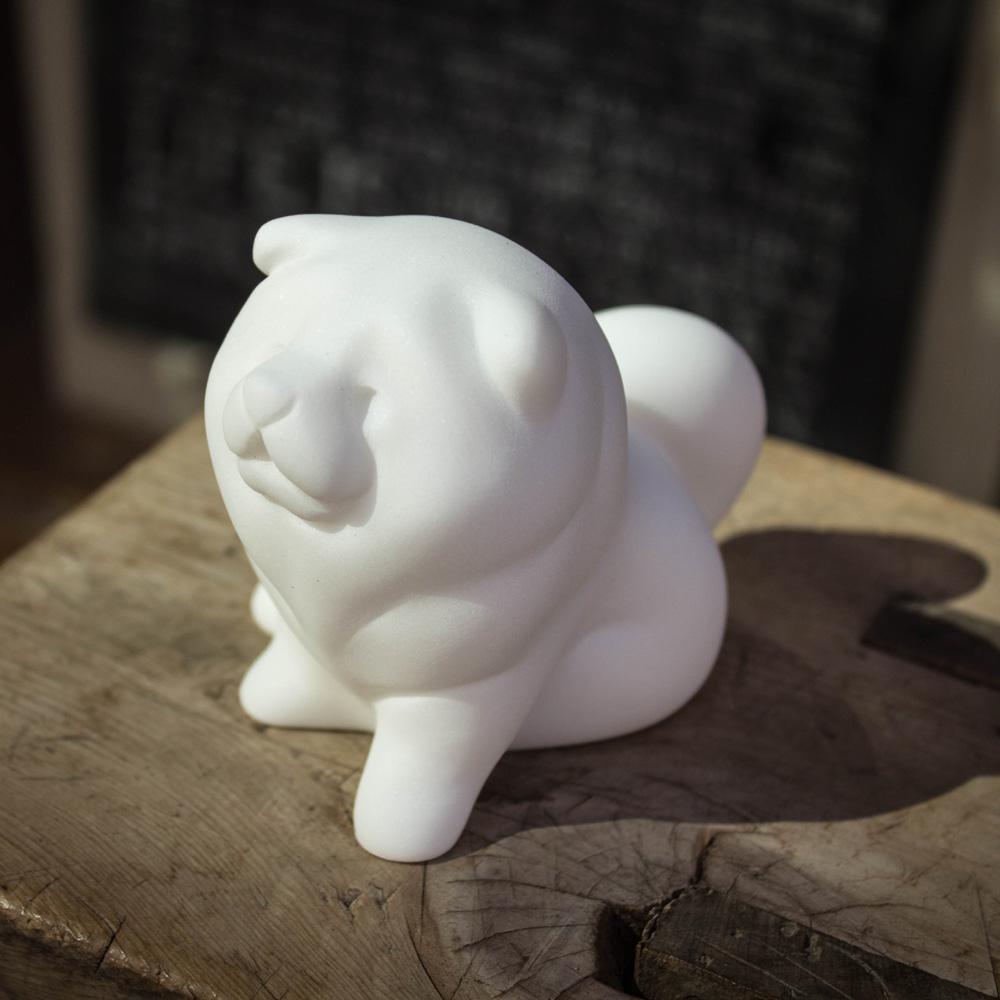CHU,AN Design|獨立鬆獅犬-狗狗造型石雕擺飾/紙鎮