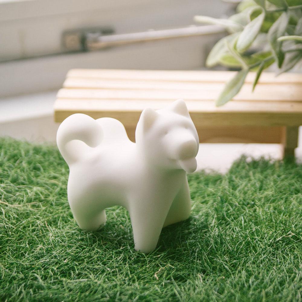 CHU,AN Design| 自信柴犬-狗狗造型石雕擺飾/紙鎮