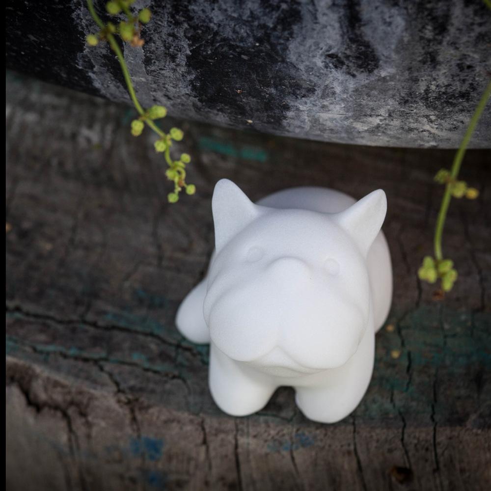 CHU,AN Design| 顧家鬥牛犬-狗狗造型石雕擺飾/紙鎮