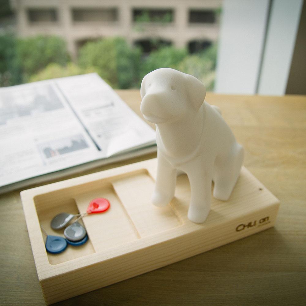 CHU,AN Design| 和善拉不拉多-狗狗造型石雕擺飾/紙鎮