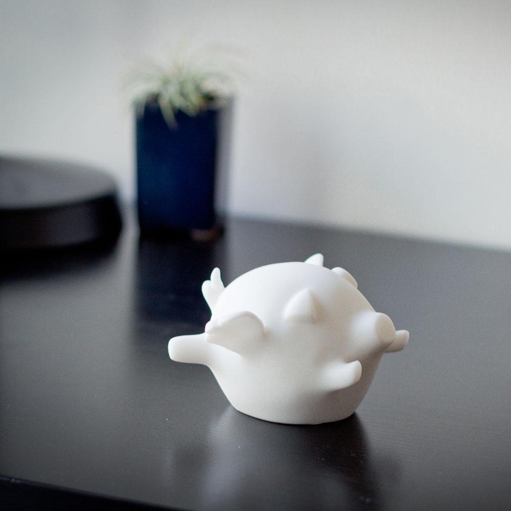 CHU,AN Design| 想飛系列-《飛來美滿》小飛豬造型石雕擺飾/紙鎮