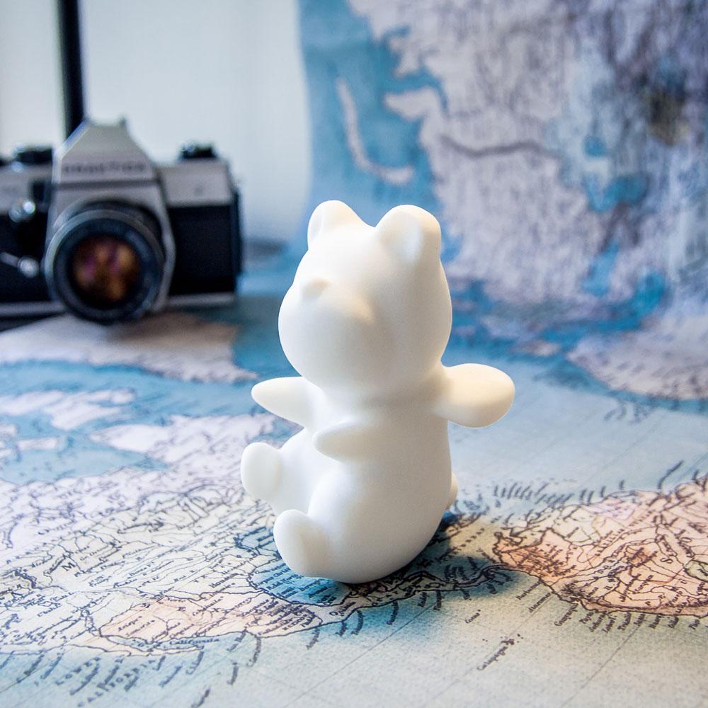CHU,AN Design| 想飛系列-《飛擁天空》小飛熊造型石雕擺飾/紙鎮