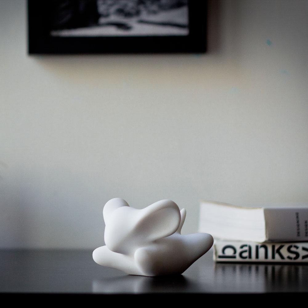 CHU,AN Design  想飛系列-《飛行逐夢》小飛鼠造型石雕擺飾/紙鎮