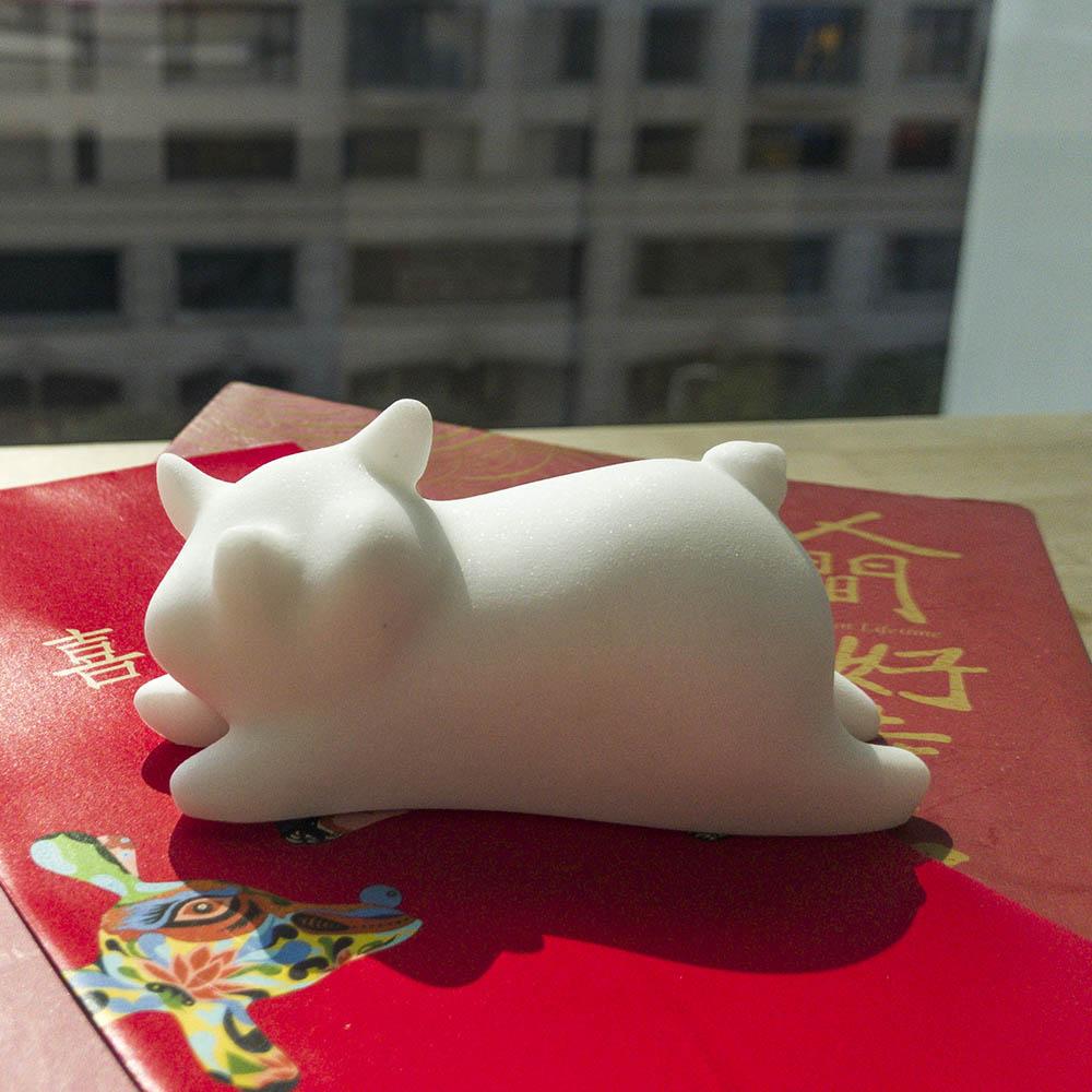 CHU,AN Design  豬喜盈門.居福宅-小豬造型石雕/紙鎮