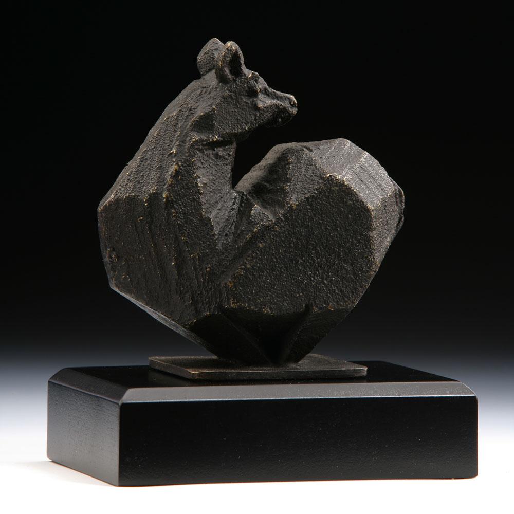 筌美術Gallery Chuan | 八方系列_《鼠.頂尖》銅雕