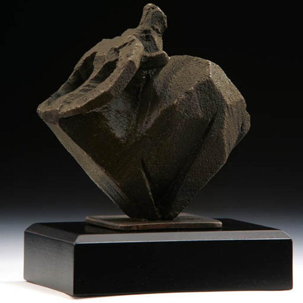 筌美術Gallery Chuan | 八方系列_《牛.乾坤》銅雕