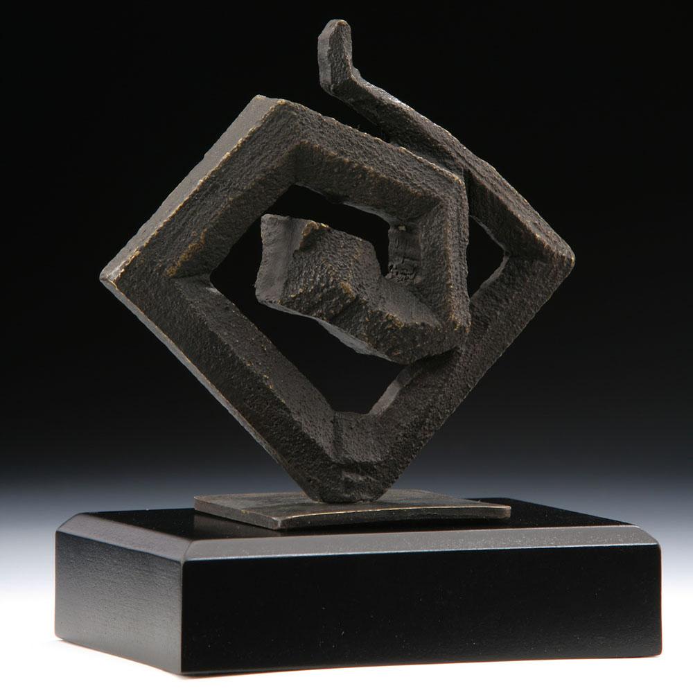 筌美術Gallery Chuan | 八方系列_《蛇.順遂 》銅雕
