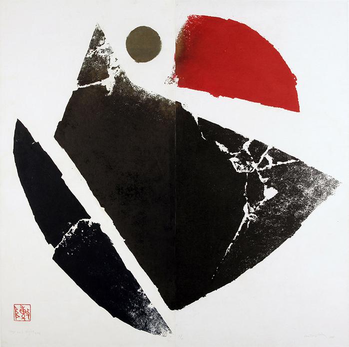 (複製)筌美術Gallery Chuan   陳庭詩紀念馬克杯系列_《晝與夜 #25》馬克杯