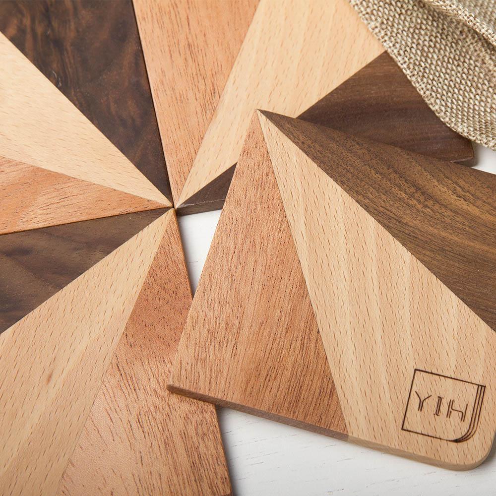 壹一YIH Wood Studio   30° 杯墊