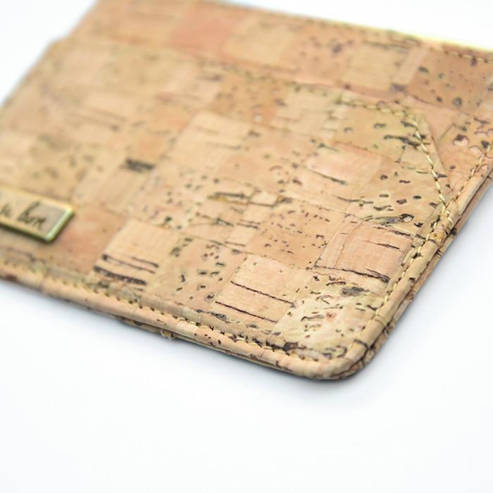 C′est Si Bon 手感軟木零錢包/卡包-經典格紋