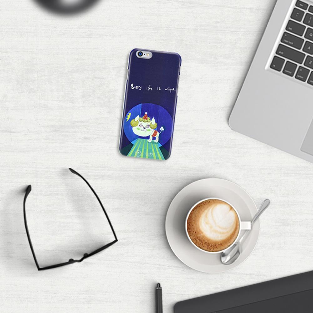 C′est Si Bon|手繪插畫系列立體浮雕iphone手機殼(貴婦貓阿彩)