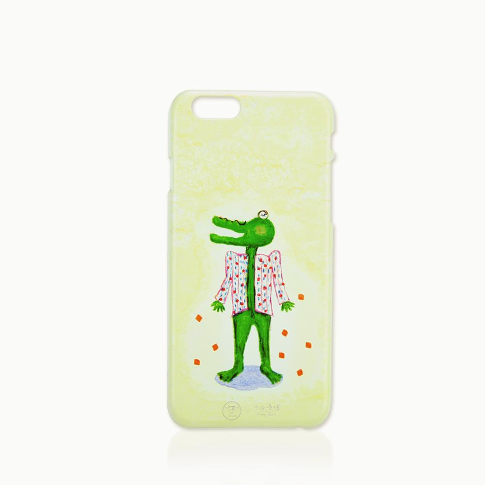 C′est Si Bon|手繪插畫系列立體浮雕iphone手機殼(氣勢鱷魚)