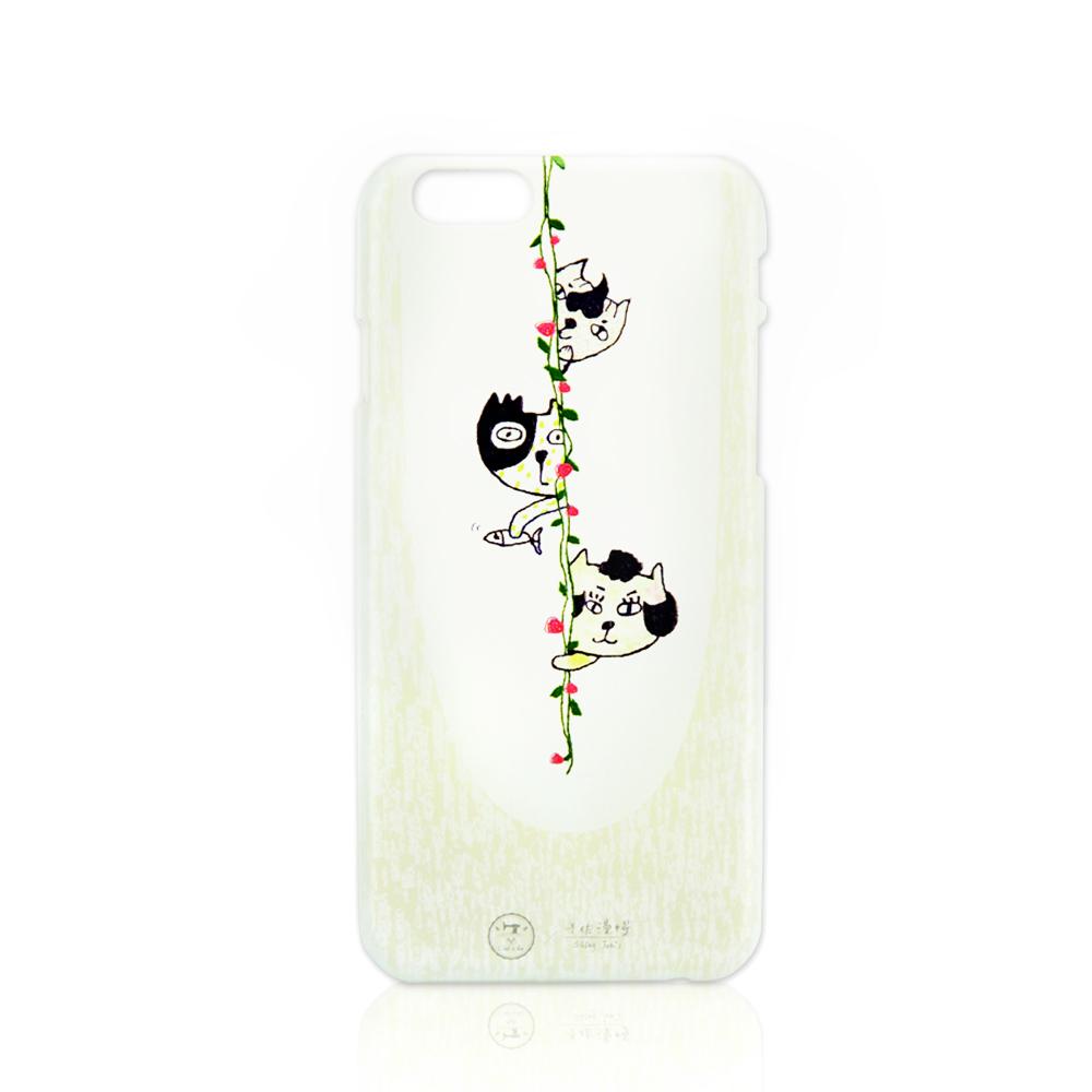 C′est Si Bon|手繪插畫系列立體浮雕iphone手機殼(躲貓貓)