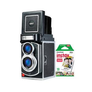 MiNT InstantFlex | TL70 2.0 第二代增亮版 復古雙眼即拍立得相機富士拍立得彩色底片 新春吉祥組