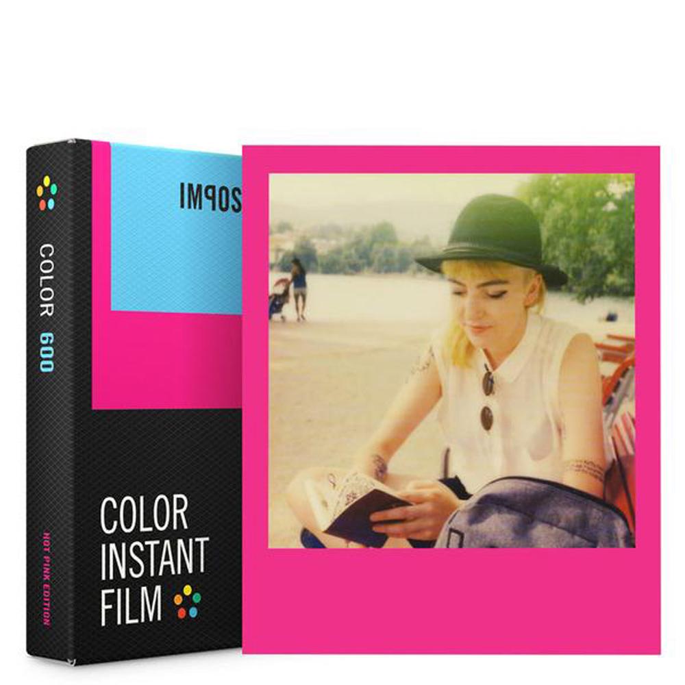 IMPOSSIBLE   新款彩色粉紅框底片 FOR 600