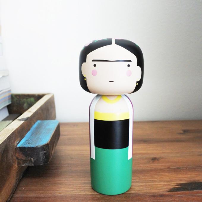 (複製)Lucie Kaas|Kokeshi 木偶 - Vincent 梵谷