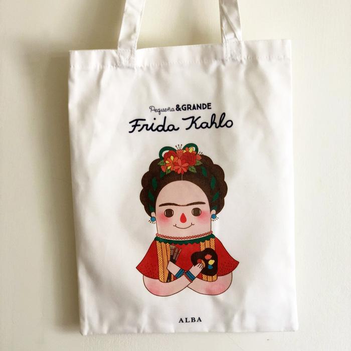Alba Editorial │Frida Kahlo 棉質提袋【女性大人物系列】