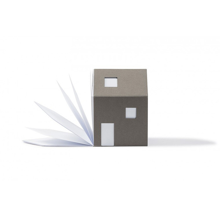 包浩斯Bauhaus靈感便條紙屋(灰色)