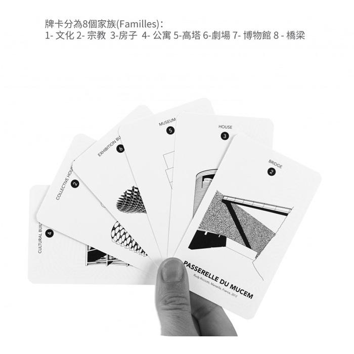 法國經典家族牌卡FAMILY CARD GAME - 世界建築