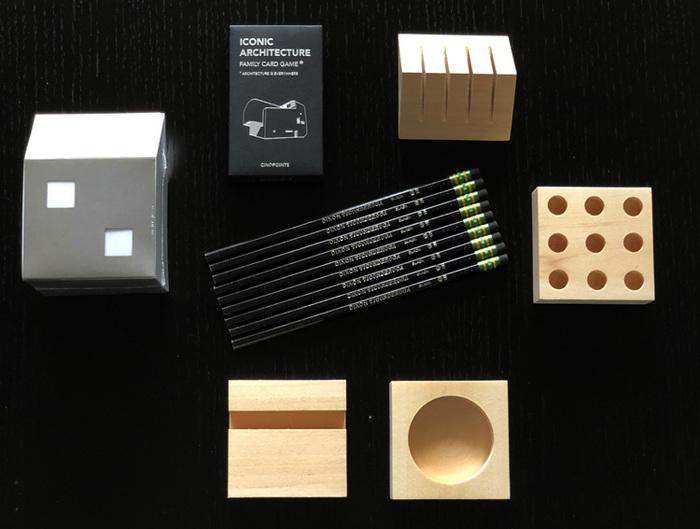 包浩斯Bauhaus靈感迷你辦公小物