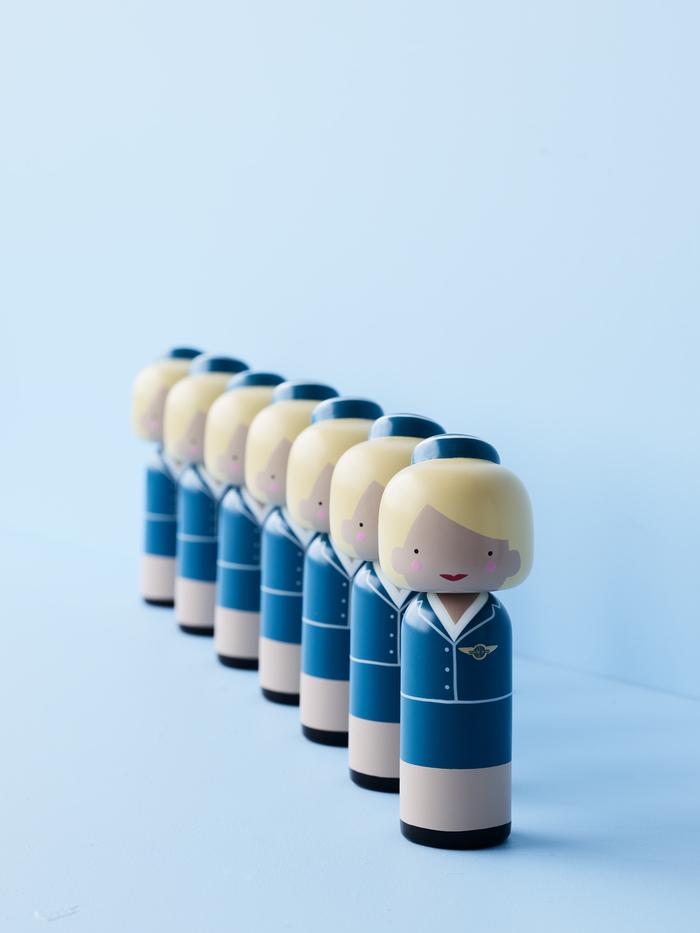 (複製)Lucie Kaas|Kokeshi 木偶 - Pablo 畢卡索