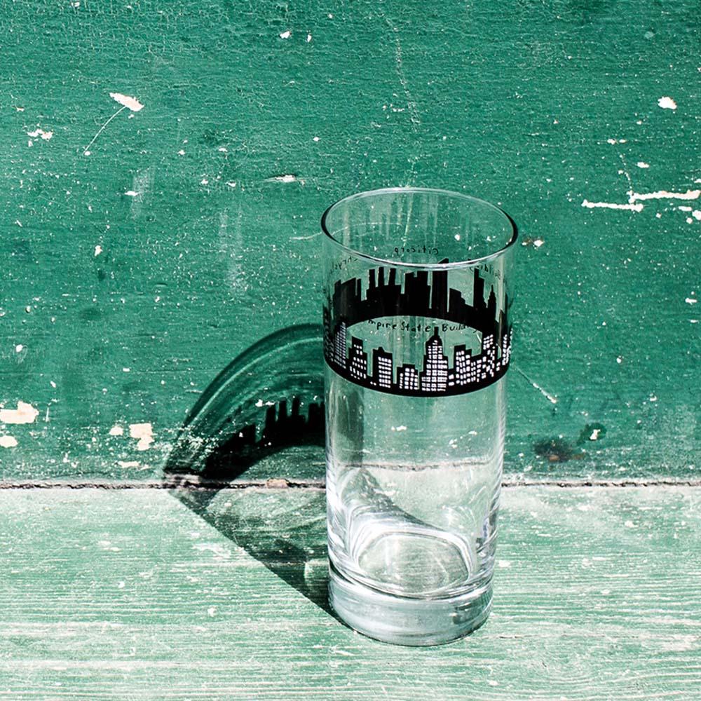 Fishs Eddy|曼哈頓玻璃杯(大)