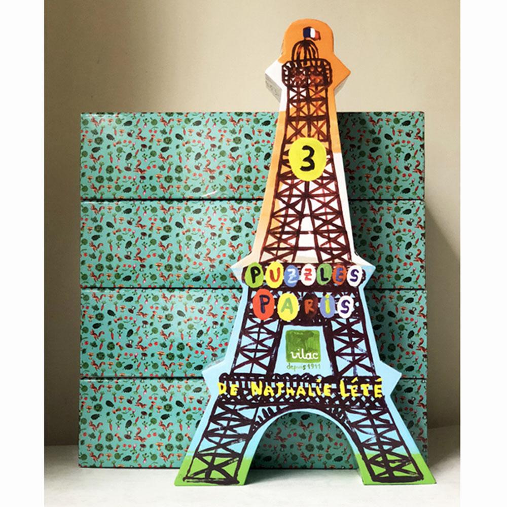 Vilac│木質拼圖 - 巴黎鐵塔