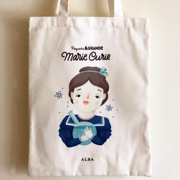 Alba Editorial │Marie Curie 棉質提袋【女性大人物系列】