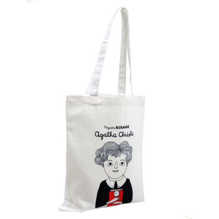 Alba Editorial │Agatha Christie 棉質提袋【女性大人物系列】