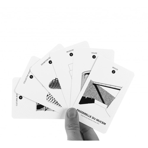 cinqpoints|法國經典家族牌卡FAMILY CARD GAME - 世界建築