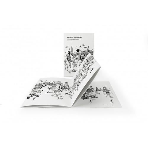 cinqpoints|Archicolory History建築史著色卡